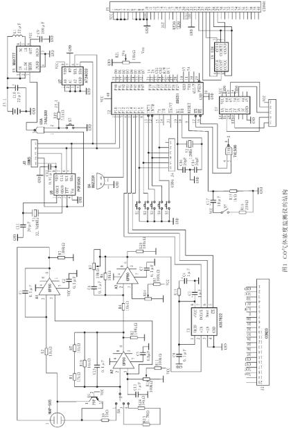 基于TC35型模块实现CO气体监测仪的设计方案