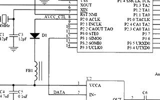 基于单片机和TH-UWB02芯片实现超宽带窄脉冲发射机的设计