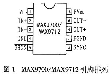 高效D类音频放大器MAX9700/12的工作原理...