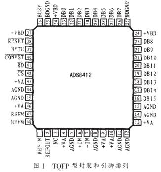 16位逐次逼近模数转换器ADS8412的功能特点...