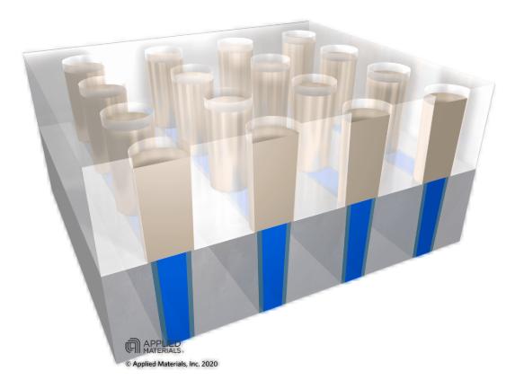 应用材料公司解决2D尺寸继续微缩的重大技术瓶颈