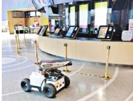 機器人應用于各大影院 成為亮點
