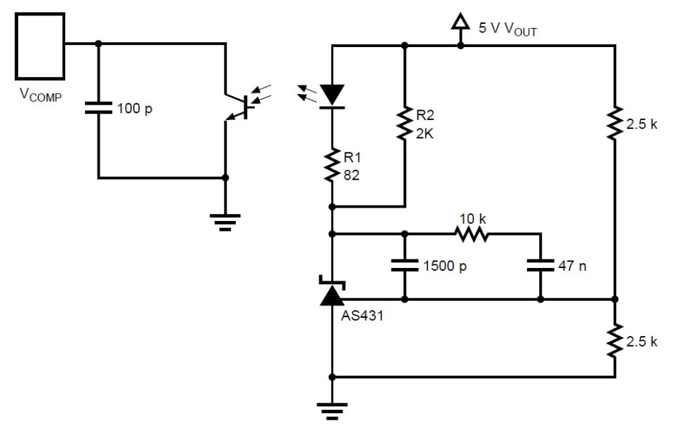 使用AS431的二次侧误差放大器应用说明