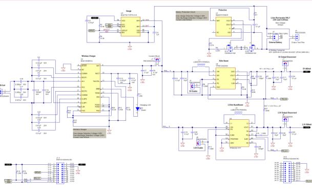 电源管理500mA无线充电器原理图和PCB源文件免费下载