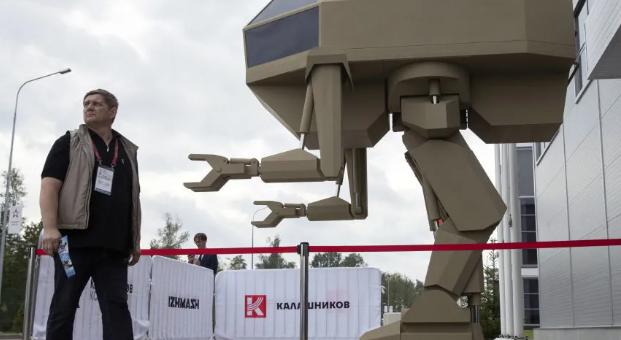 俄專家評價戰斗機器人系統
