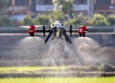 多旋翼植保無人機飛防作業的特點、步驟和事項注意