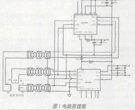 數字旋轉變壓器實現異步電機轉子位置信號的精確測量