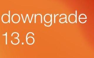 如何将iOS 13.6降级到iOS 13.5.1