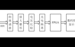 采用FPGA器件EP1C3T144C6芯片和VH...