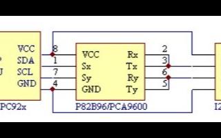 基于I2C接口驱动芯片PCA9633实现LED显示控制 5ad 统的设计