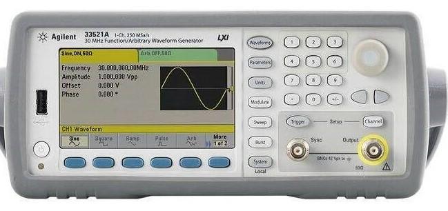 波形发生器是现代测试领域内应用最为广泛的通用仪器之一