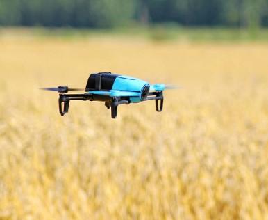 光伏电站利用小型无人机快速建立巡检区域正射影像
