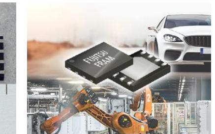 富士通电子推出最新4Mbit FRAM 运作温度最高可达125℃