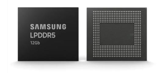 首款12Gb LPDDR5 三星发布 将用于5G智能手机
