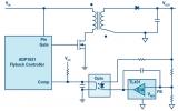 无需专用隔离反馈回路,简洁的反激式控制器