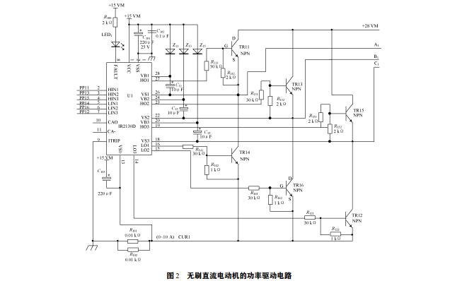 如何实现无刷直流电动机功率驱动电路的设计