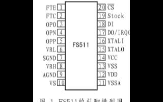 低功耗模数转换器FS511的特性、引脚功能和应用...