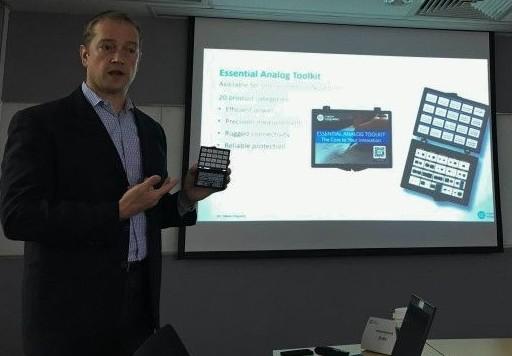 美信提供整合了數字處理器與模擬信號鏈的單芯片方案