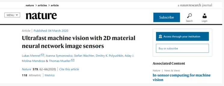 神经网络助力图像传感器 将推进边缘计算
