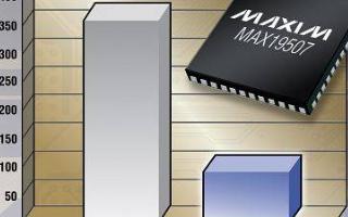 Maxim双通道ADC系列产品专为空间紧张系统而设计