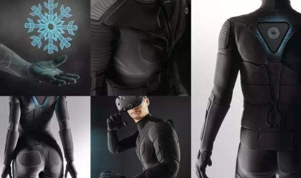 虚拟现实皮肤:硅和金属造就的千层面