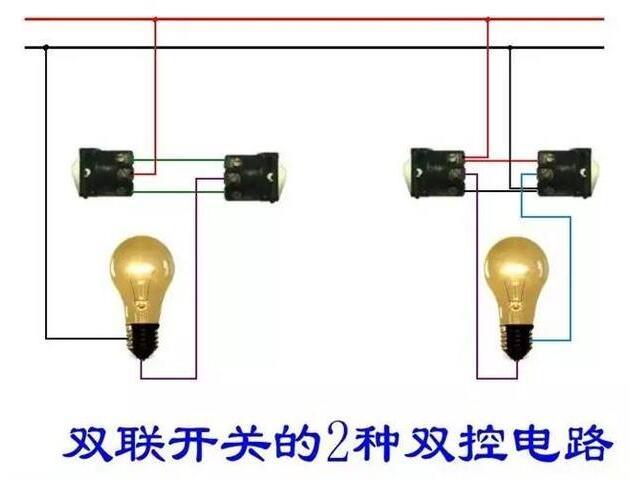 常见的照明线路接线图