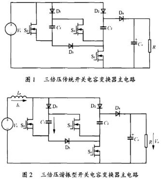 谐振型开关电容变换器的工作原理和参数设计方法