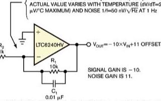 基于噪声增益的斩波技术可实现提高DC精度