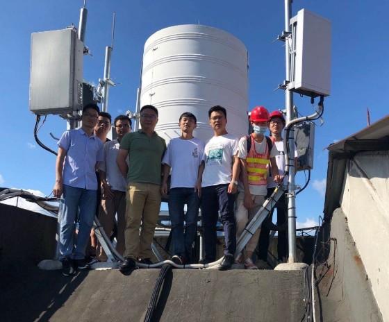 中国电信广西公司推出可处理200MHz带宽多流的...