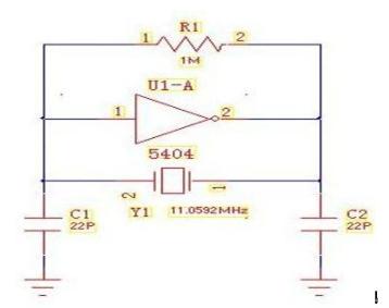 晶振电路中选择电容的方式