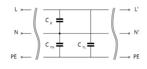 单相滤波器的漏电流解析