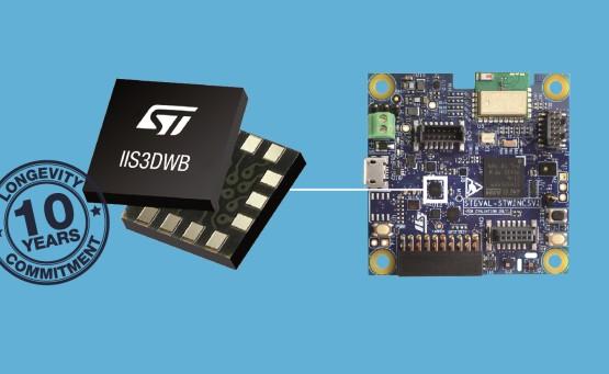 意法半导体新推出IIS3DWB振动传感器等评估套件