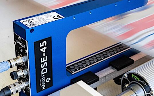 Maxcess首次推出新型FifeDSE-45數字寬帶傳感器