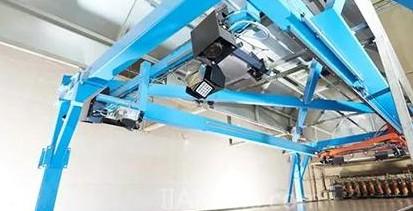 板材测量系统与机械设备通过激光器并开发应用程序来进行补偿