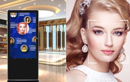 人臉識別廣告機和人臉識別技術應用