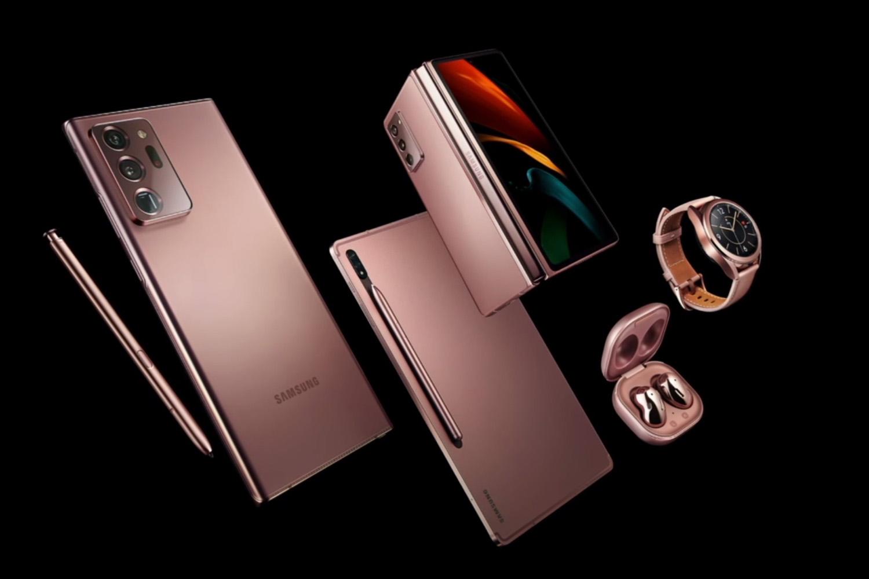 三星note 20上市支持雙模5G網絡價格自己體會 還有平板、可穿戴設備 折疊屏手機亮相