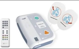 专门为急救人员在使用真正临床AED的AED模拟除颤仪