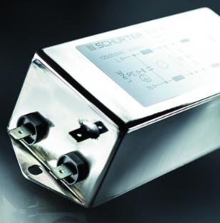 具有卓越寬帶衰減性能的超緊湊型單相EMC濾波器