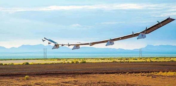 专为高空通信设计的Sunglider太阳能无人机