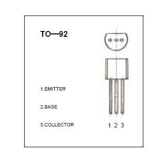三極管9014管腳圖及應用電路