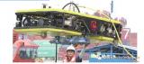 我国自主研发的首台商用水下智能清洗机器人在青岛港...