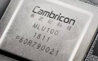 国内人工智能芯片公司中科寒武纪科技股份有限公司正式登陆科创板