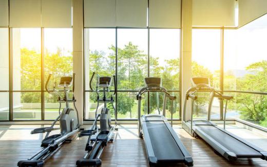 智能魔鏡在健身房的應用,讓健身也成為一種時尚