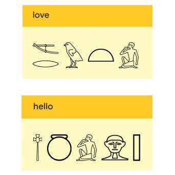 机器学习案例 解码古埃及象形文字