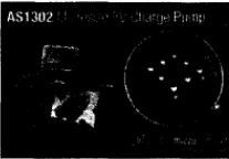 无电感DC-DC升压式转换器AS1302可同时实现低输入纹波和低输出纹波