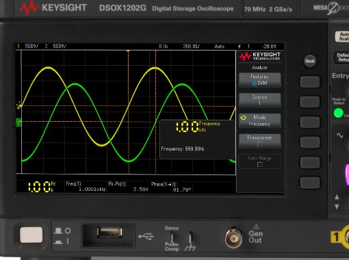 全新 InfiniiVision 1000 X 系列示波器通过软件进行带宽升级