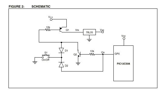 如何使用单片机实现电源开关控制
