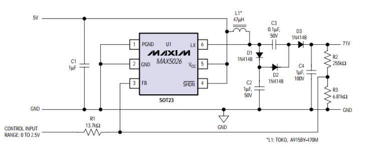 基于ADC进行数字控制的低噪声APD偏置电路实现案例