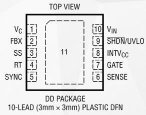 高输入电压DC/DC控制器LT3758的性能特点和应用分析