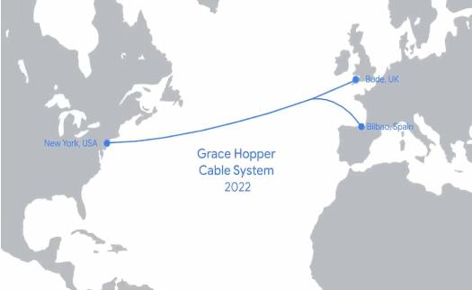 谷歌计划部署一条名为Grace Hopper的海...